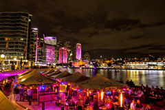 Vivid Live festival in Sydney Stock Photography