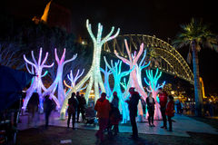 Vivid Live festival in Sydney Royalty Free Stock Images