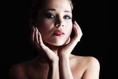 Vivid make-up Royalty Free Stock Image