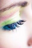 Vivid make up Stock Images
