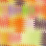 Vivid mosaic abstract background with colorful square intersect elements in pastel colors. For web design royalty free illustration