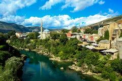 Vivid Mostar stock photo
