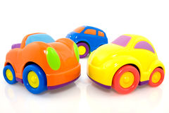 Vivid multicolored cars Stock Photos