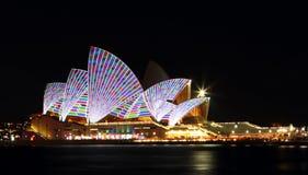 Vivid Opera House Royalty Free Stock Photography