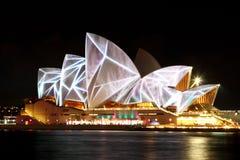 Vivid Opera House Royalty Free Stock Image