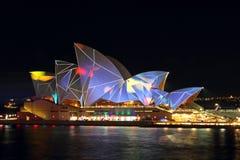 Vivid Opera House Stock Photo
