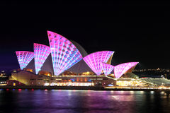 Vivid Opera House Royalty Free Stock Image