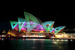 Vivid Opera House Royalty Free Stock Photo
