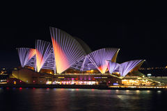 Vivid Opera House Stock Photo