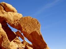 Vivid Orange Rock Stock Photos