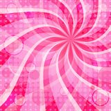 Vivid pink background Stock Images