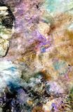 Vivid pink purple dark colors, bright pastel paint acrylic watercolor background, colorful texture. Watercolor painting bright soft abstract background pink stock photo