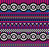 Vivid pop art pattern Stock Photos
