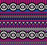 Vivid pop art pattern. Vector seamless abstract pattern in vivid colors Stock Photos