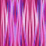 Vivid purple  background with pixel strips, trendy design background Stock Image