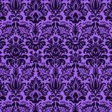 Vivid purple damask Royalty Free Stock Photos