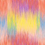 Vivid rainbow grunge striped vertical seamless pattern. For web design stock illustration