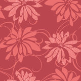 Vivid repeating floral. For easy making seamless pattern use it for filling any contours Stock Image