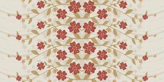 Vivid repeating floral Stock Image