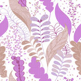 Vivid repeating floral Stock Images