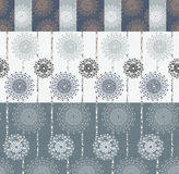 Vivid Repeating Floral Royalty Free Stock Images