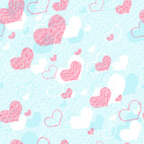 Vivid repeating map. For easy making seamless pattern use it for filling any contours Stock Image