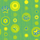 Vivid repeating map. For easy making seamless pattern use it for filling any contours Royalty Free Stock Image