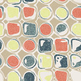 Vivid repeating map. For easy making seamless pattern use it for filling any contours Stock Photography