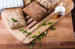 Vivid sandwich concept, natural food Royalty Free Stock Photo