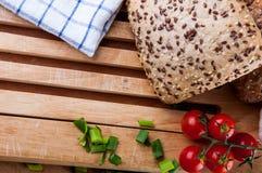 Vivid sandwich concept, natural food Royalty Free Stock Image