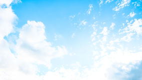 Vivid Sky in summer Stock Images