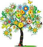 Vivid smart tree Stock Images