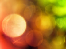 Vivid Spots. An arrangement of different shapes and multicolored spots Stock Images