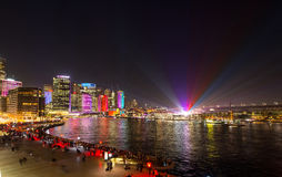 Vivid Sydney featival 2016 Stock Images