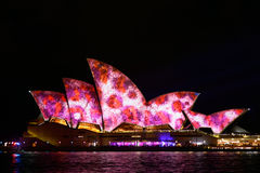 Vivid Sydney: A Festival of Light, Music royalty free stock images