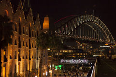 VIVID Sydney 2014 Royalty Free Stock Photography