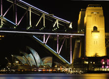 Vivid Sydney Royalty Free Stock Images