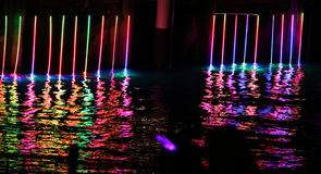 Vivid Sydney - Light Waves Stock Image