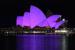 Vivid Sydney Opera House Royalty Free Stock Photos