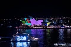 Vivid Sydney royalty free stock photos