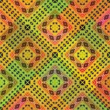 Vivid tribal pattern. Vivid tribal fabric seamless pattern african style Stock Photos
