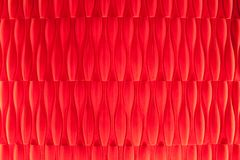 Vivid vermilion velvet wallpaper abstract design Royalty Free Stock Images