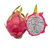 Vivid and Vibrant Dragon Fruit Stock Images