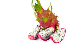 Vivid and vibrant dragon fruit Stock Photography