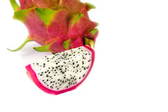 Vivid and vibrant dragon fruit Royalty Free Stock Image