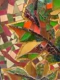 vividly-colored-glass-mosaic Stock Photo
