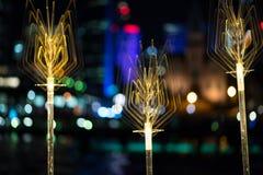 VividSydney 2015 - festival di inverno di Sydney Australia Fotografie Stock