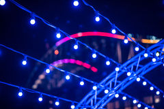 VividSydney 2015 - Sydney Australia winter festival Royalty Free Stock Photo