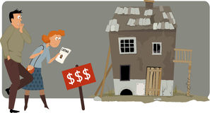 Vivienda costosa libre illustration