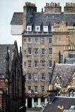 Vivienda de Edimburgo, Lawnmarket, milla real Imagen de archivo